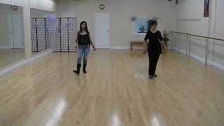 Little White Church - line dance (dance & walk through)