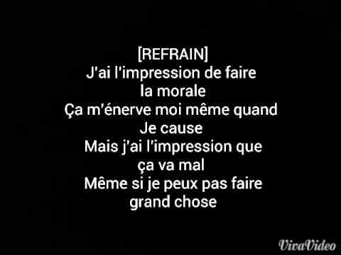 Paroles - Orelsan  La morale