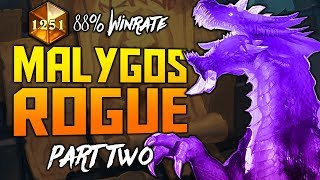 Malygos Rogue = OP? | Part 2 | The Witchwood | Hearthstone