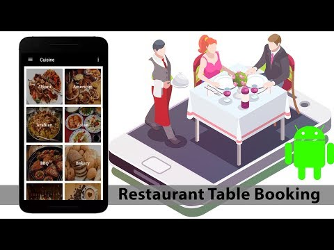 Restaurant Table Booking Application