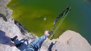 Bowfishing central Texas
