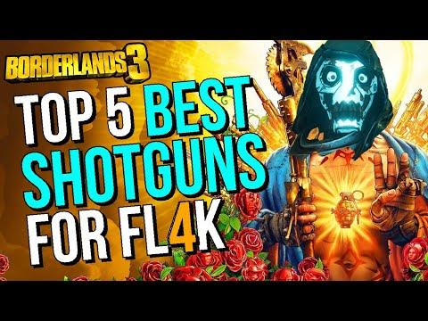 Best Shotguns to Use For FL4K in Borderlands 3