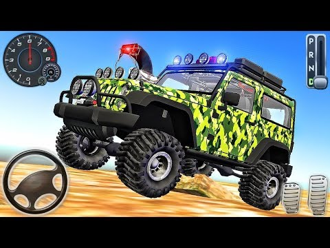 Mountain Jeep Drive Offroad Car SUV Simulator - Android GamePlay