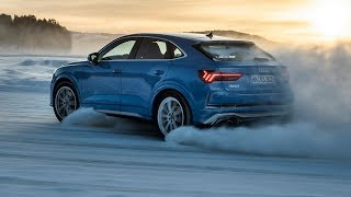 2020 Audi RS Q3 Sportback Test Drive on Ice and Snow