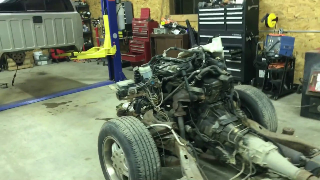S10 frame for the 52 chevy - YouTube