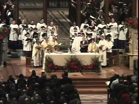Christmas Eve at Washington National Cathedral - Hymn Joy to the World
