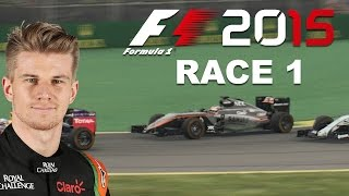 F1 2015 Gameplay - CAREER MODE PART 1 - Australia - The Perfect Pit Call - WHEEL CAM