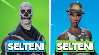 TOP 10 OF THE SELTESTEN FORTNITE SKINS - Fortnite Battle Royale | The Fruit Dwarf