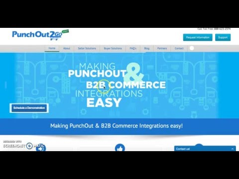 WordPress WooPress Punchout Catalog Integration | PunchOut2Go