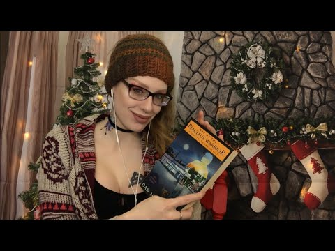 ASMR BINAURAL BOOK TAPPING, GRIPPING, & PAGE TURNING