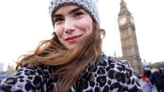 Radzka VLOG tydzień Londyn CZWARTEK South Bank, London Eye, najlepsza trasa spacerowa :-)