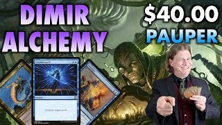 MTG - Get dirty! With Dimir Alchemy, a Powerful Control Deck in Pauper for Magic: The Gathering