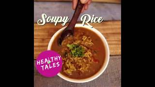 HOW TO USE BLACK CHANNA WATER | SOUPY RICE RECIPE IN HINDI | QUICK RICE RECIPE