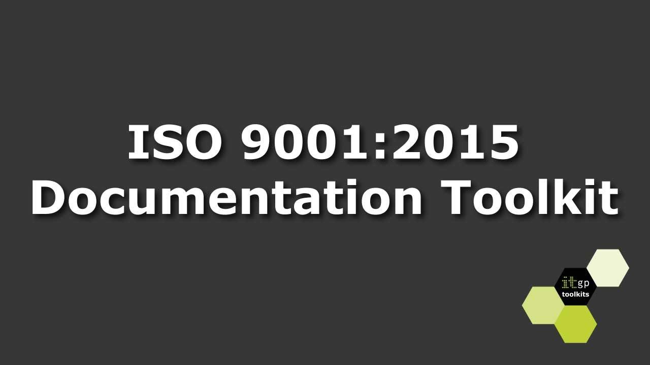 ISO 9001:2015 Documentation Toolkit - YouTube