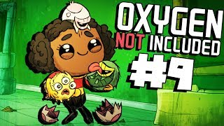 Shearing Dreckos! - Ep. 9 - Oxygen Not Included Ranching Upgrade Mark II