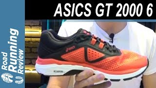 ASICS GT 2000 6 | Amortiguación y soporte van de la mano