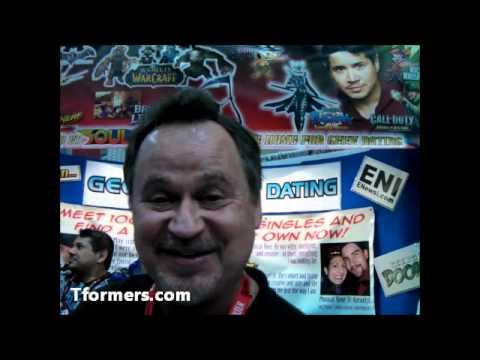 SDCC 2011 - Greg Berger Voice of Transformers Grimlock