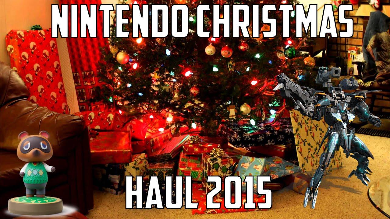My Nintendo Christmas Haul 2015! -OutstandingOshawott2 - YouTube