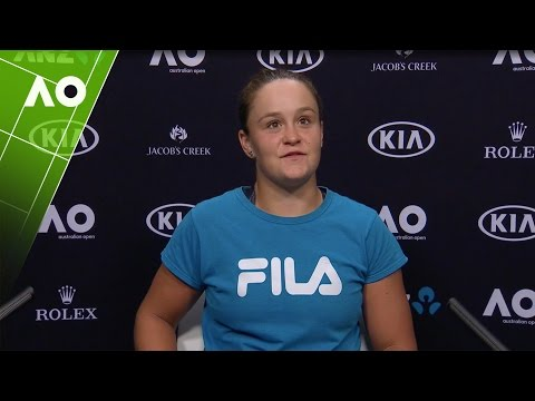 Ashleigh Barty press conference (1R) | Australian Open 2017