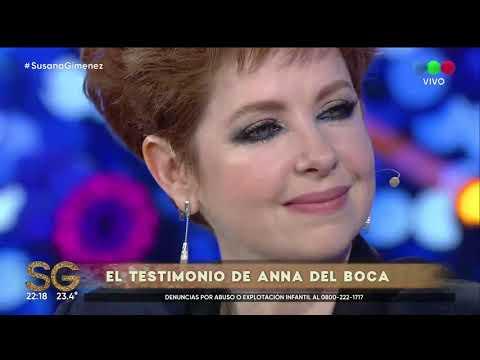 Andrea del Boca habló de la denuncia de Anna Clara contra su padre