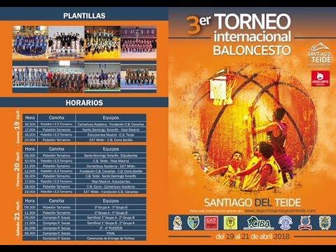 Baloncesto SEMIFINAL 1 Santiago del Teide