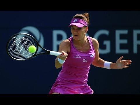 [HD] Agnieszka Radwanska vs Shuai Peng New Haven 2017 Highlights