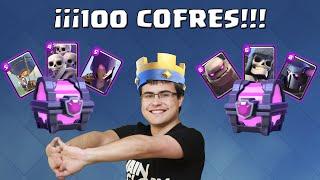 ¡¡¡ ABRIENDO 100 COFRES MÁGICOS !!! | Clash Royale