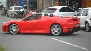 Ferrari F430 Spider Incredible Loud Sound