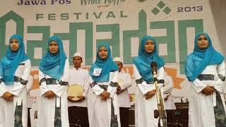 Asmaul Husna Al-banjari Versi Al-banjari by Muhasabatul Qolbi Vocal Agustin Dwi Ningtias