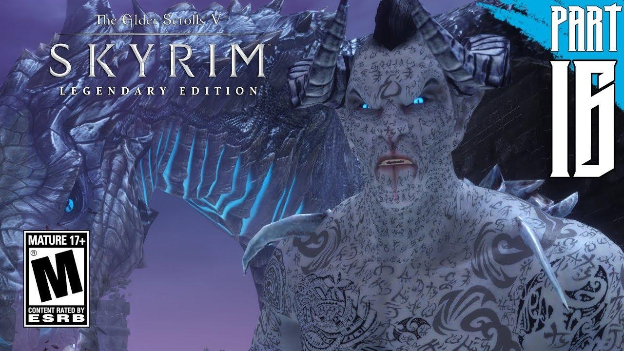 【SKYRIM 200+ MODS】Dark Elf Gameplay Walkthrough Part 16 [PC - HD]