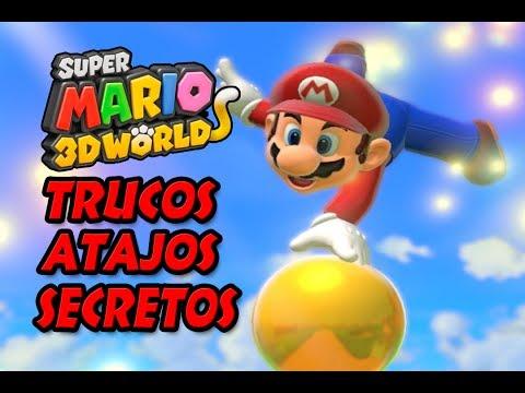 Super Mario 3D World Trucos Atajos y Secretos