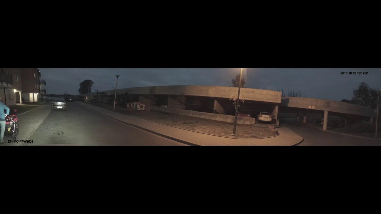 Dahua ip caméra 180° 6 mp - YouTube