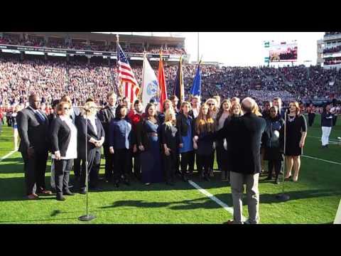 University of MS Opera Theatre National Anthem 11/26/16