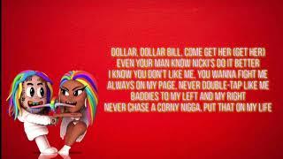 6ix9ine - Trollz ft. Nicki Minaj (Lyrics)