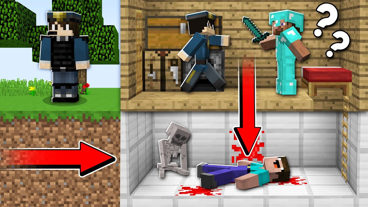 Download INVESTIGATION NOOB! Minecraft NOOB vs PRO in Minecraft Animation