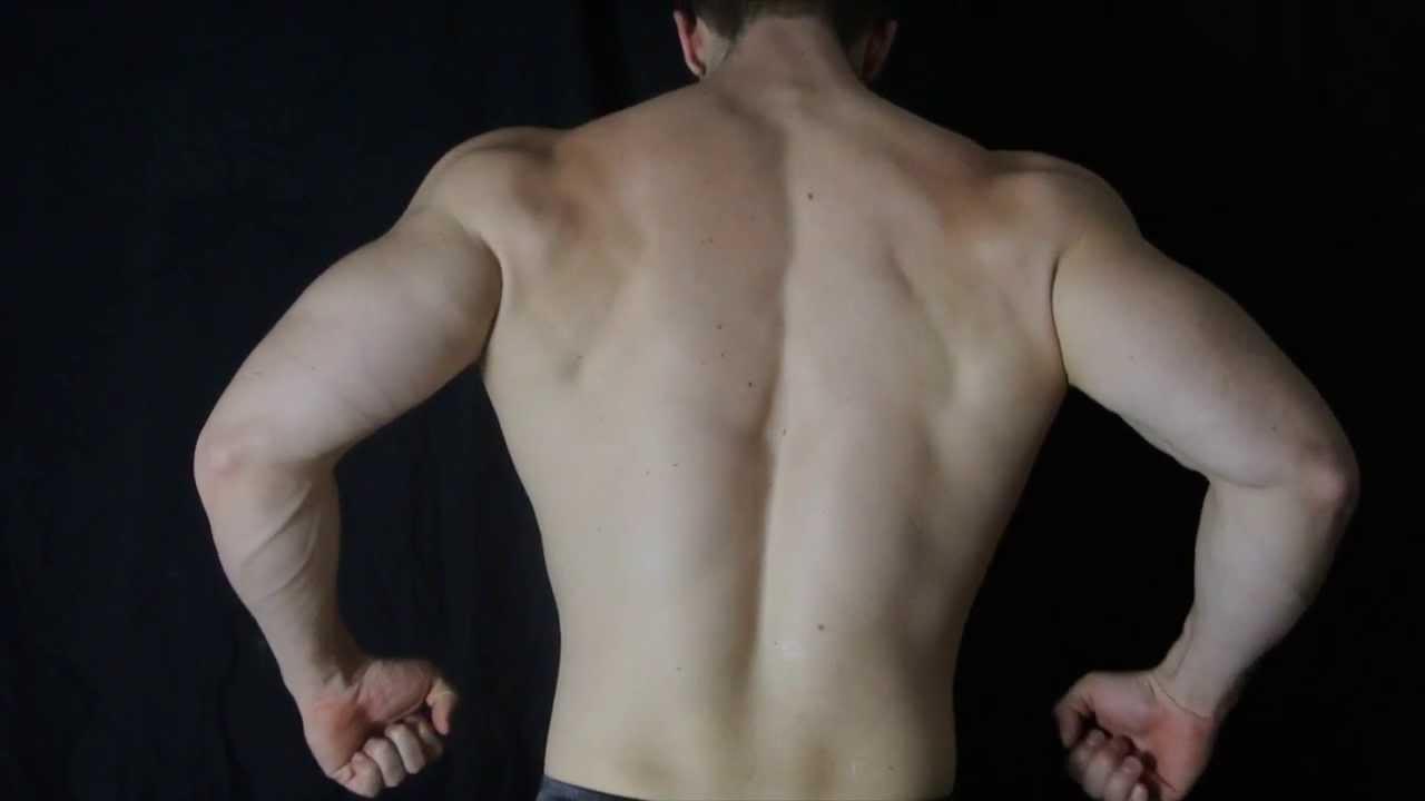 bodybuilding posing basics back front relaxed youtube