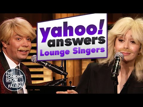 The Yahoo! Answers Lounge Singers Have Their Final Performance | The Tonight Show