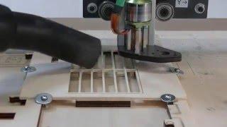 Fraiseuse FAKIR : pièces fragiles en CTP 3mm