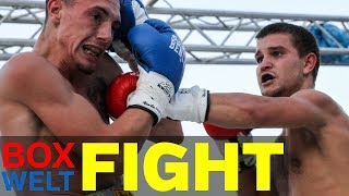 Sandro Luetke Bordewick vs Sergej Vib - 10 rounds Lightweight - 05.08.2017 - Essen