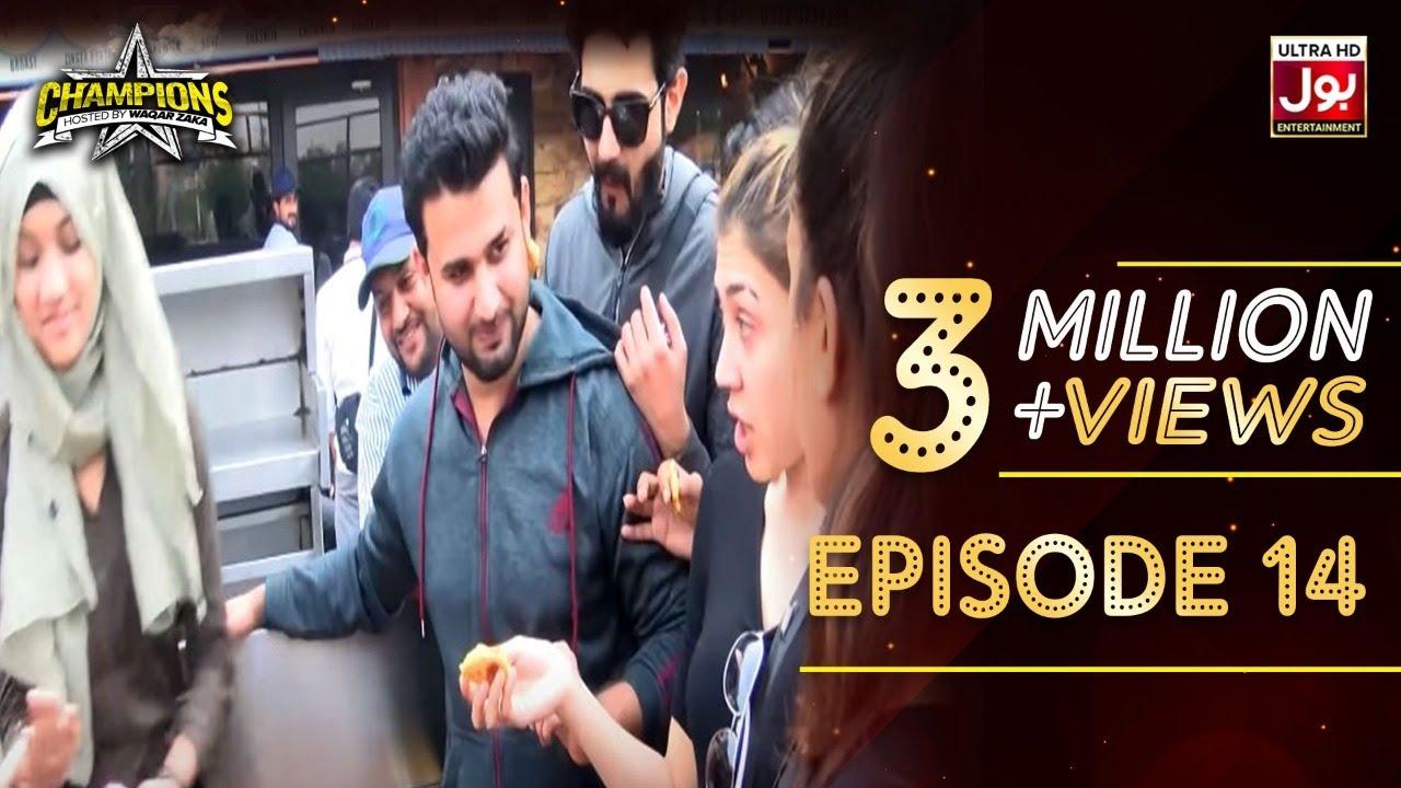 Champions With Waqar Zaka Episode 14 | Champions BOL House | Waqar Zaka Show