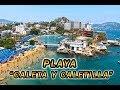 """PLAYA  """"CALETA Y CALETILLA""""  (ACAPULCO)"""