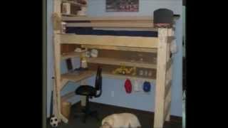 Collegebedlofts.com & Youthbedlofts.com Loft Bed And Bunk Beds