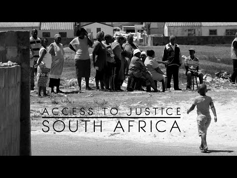 Access to Justice: South Africa