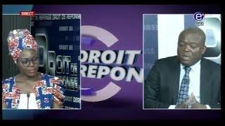 DROIT DE RÉPONSE( CRISE ANGLOPHONE, OPÉRATION ÉPERVIER, SÉNATORIALES) 01 AVRIL 2018