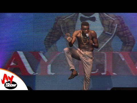 Video: Akpororo Performance at AY Live (stand up)