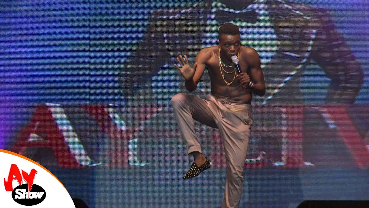 Download Akpororo Goes Naked On Stage