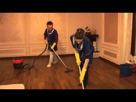 Как профессионально производится уборка в квартире