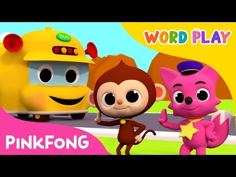 The Wheels on the Bus | Word Play | Pinkfong Songs for Children