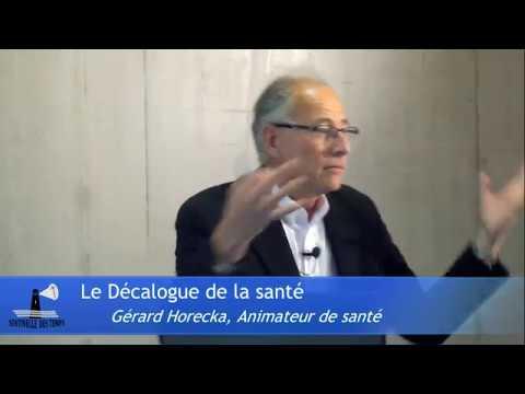 Le Décalogue de la Santé | Gérard Horecka