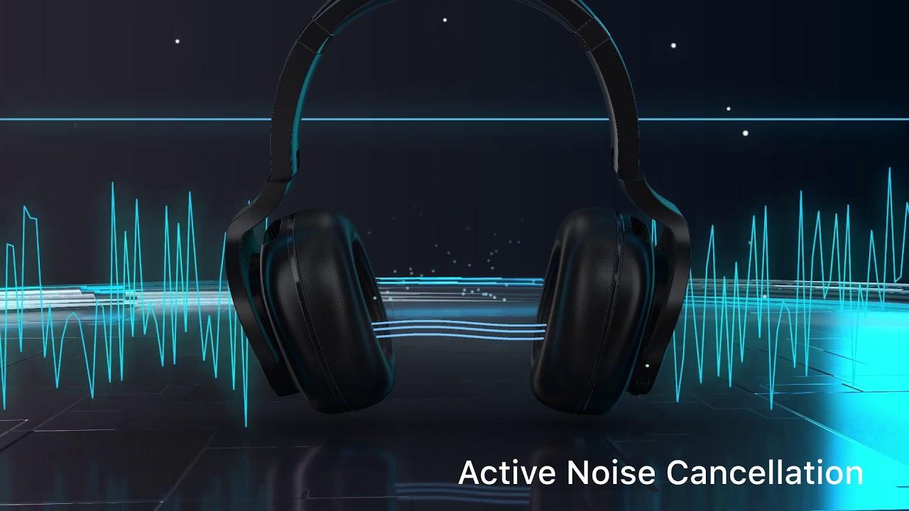 TicKasa ANC Wireless Headphones // Shadow Black video thumbnail